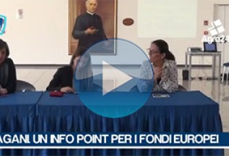 Pagani. VIDEO. Un infopoint per i fondi europei