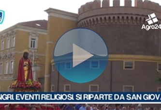 VIDEO – Angri. Salerno. Eventi religiosi post ferragosto. Si riparte da San Giovanni