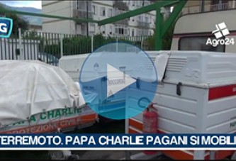 VIDEO – Pagani. Salerno. Terremoto. Papa Charlie pronta all'azione