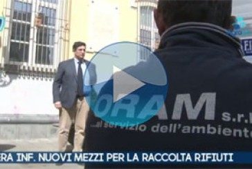 VIDEO – Nocera Inferiore. Salerno. Nuovi mezzi per la raccolta differenziata