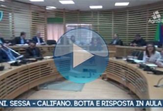 VIDEO – Pagani. Salerno. Sessa – Califano. Duro botta e risposta in aula