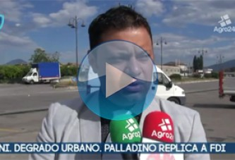 VIDEO – Pagani. Salerno. Degrado urbano. L'assessore Palladino replica a Fratelli d'Italia