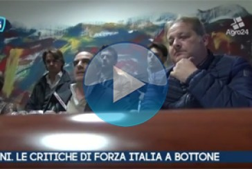 VIDEO – Pagani. Salerno. Le critiche di Forza Italia a Bottone