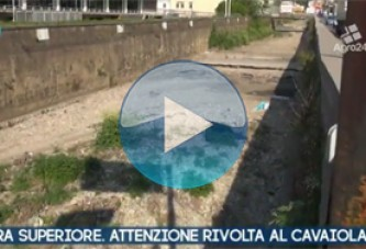 VIDEO – Nocera Superiore. Salerno. Attenzione rivolta al Torrente Cavaiola