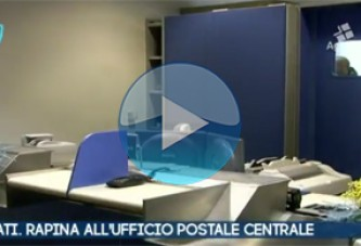 VIDEO – Scafati. Salerno. Rapina all'ufficio postale. Ecco come