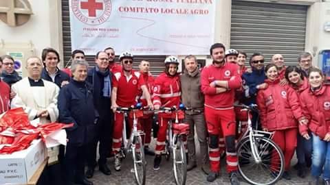 Pagani Furto Bici Croce Rossa Lo Sdegno Del Sindaco E Dell