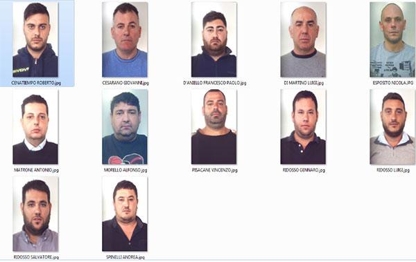 Scafati patto tra clan gli arrestati agro 24 for De martino arredamenti scafati