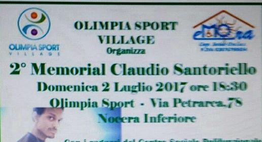 Nocera inferiore memorial claudio santoriello agro 24 for Piscina olimpia a nocera inferiore