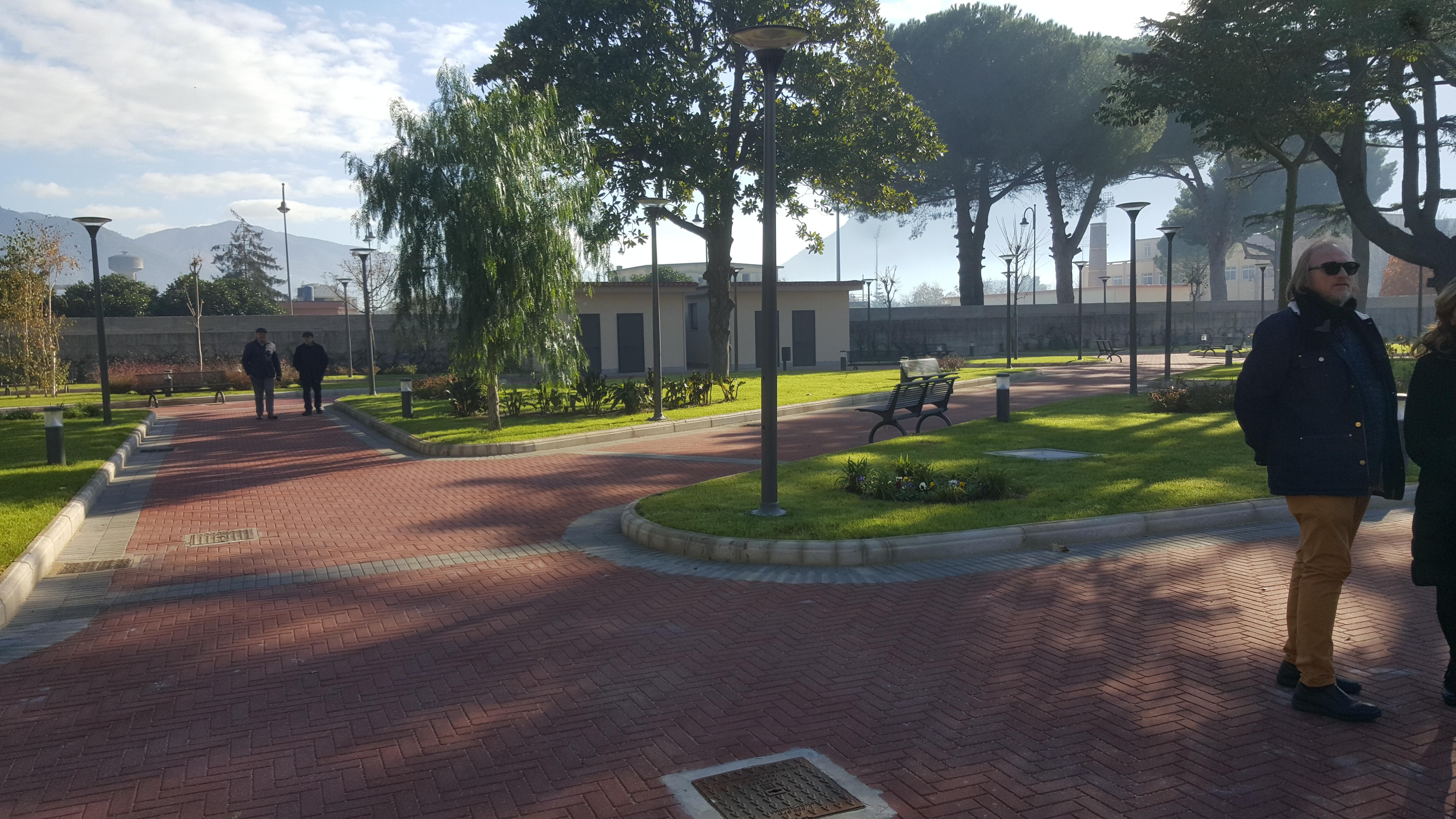 Ufficio Verde Pubblico : Nocera inferiore nuova area di spazio verde attrezzato agro