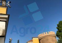 Telecamere di videosorveglianza in Piazza Doria