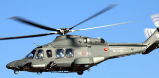 Elicottero HH-139A dell'Aeronautica militare