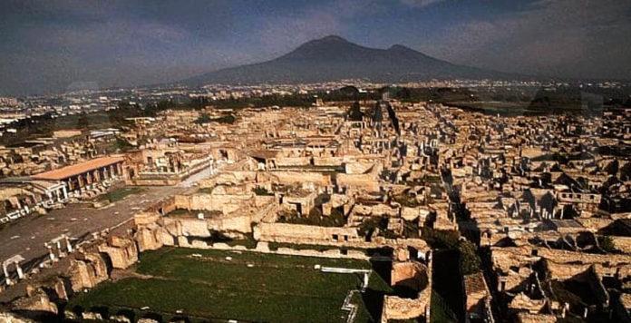 Pompei. Gli scavi