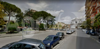 Angri. Piazza Annunziata