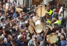 Pagani festa Madonna delle Galline apertura porte 19