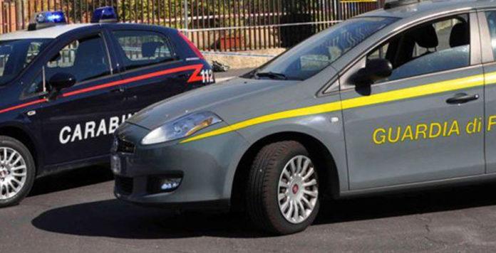 Carabinieri Guardia di Finanza Interforze