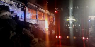 Sant'Antonio Abate incendio Via Casarielli