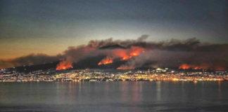 Vesuvio incendi boschivi