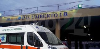 Nocera Inferiore ospedale Umberto I Ambulanza