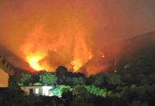 Incendio Montagna di San Gennaro