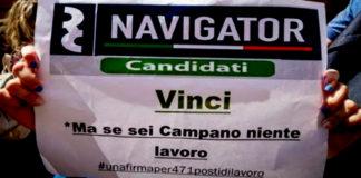 Navigator sciopero della fame
