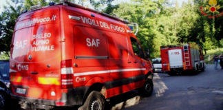 Vigili del del fuoco SAF