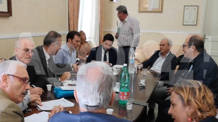 Scafati Conferenza sindaci fiume Sarno