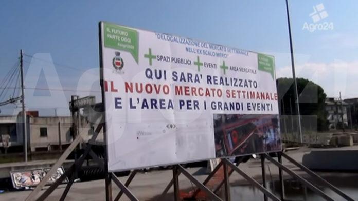 Angri area mercatale Corso Vittorio Emanuele