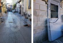 Scafati atti di vandalismo
