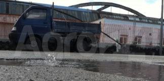 Angri perdite acqua strade
