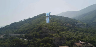 Pagani mega statua Sant'Alfonso