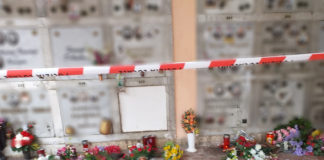 Angri furto rame al cimitero