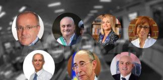 Consiglio regionale - Campania candidati a gennaio