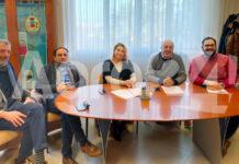Cosimo Ferraioli e la sua giunta 2020