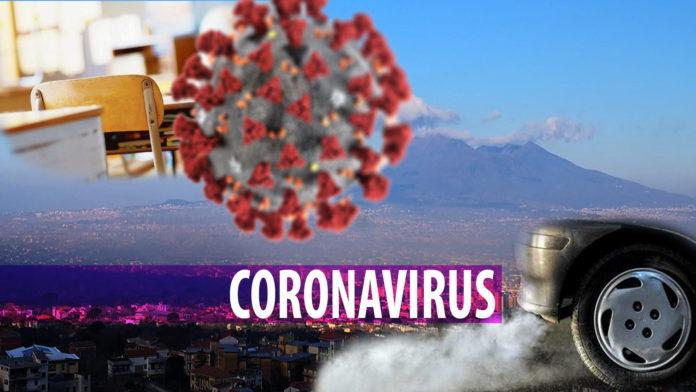 Coronavirus Scuola inquinamento Agro
