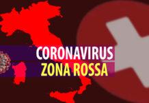 Coronavirus zona rossa