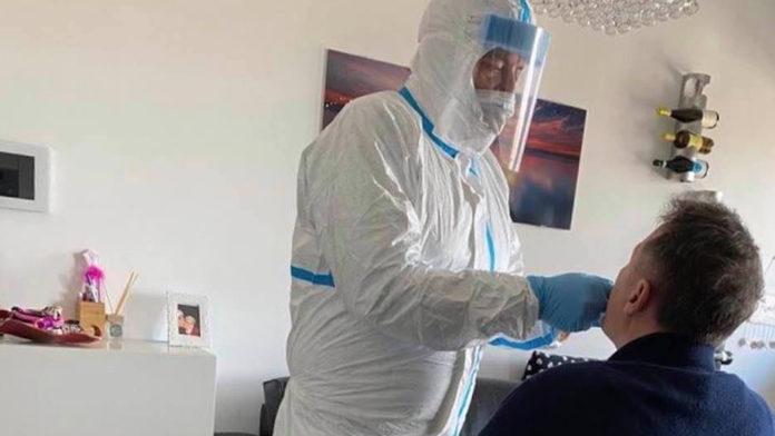 Edmondo Cirielli tampone coronavirus