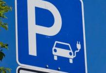 Parcheggio auto elettriche