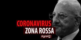 Vincenzo De Luca Zona Rossa
