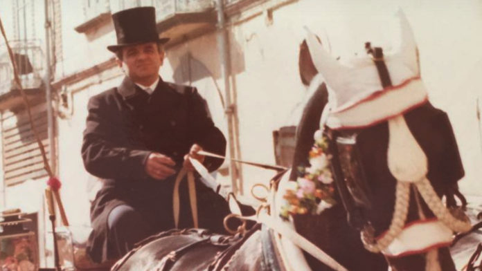 Gaetano Palumbo - L'ultimo Cocchiere - Foto archivo familglia Palumbo