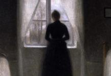 Vilhelm Hammershoi, Bedroom, 1890