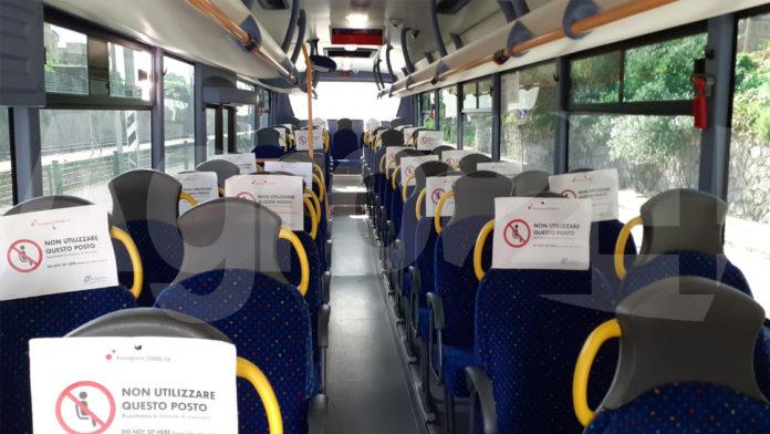 Bus interni distanziamento