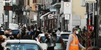 Nocera Inferiore Corso Vittorio Emanuele Coronavirus
