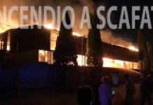 Scafati Incendio