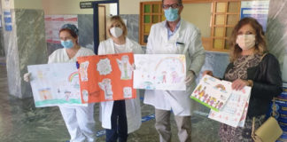 Scafati Ospedale disegni bambini