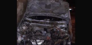 S.Egidio auto in fiamme