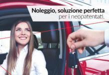 neopatentati noleggio auto