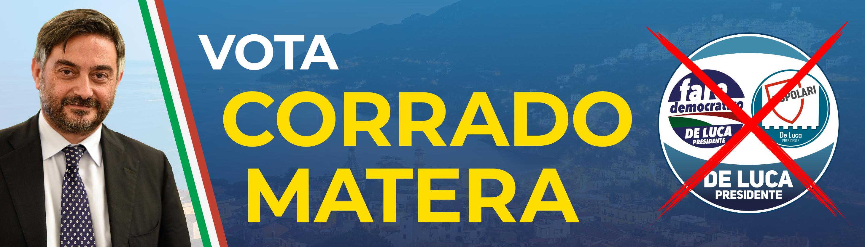Banner Corrado Matera