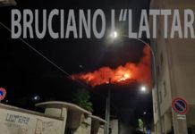 Lettere. Bruciano i Monti Lattari