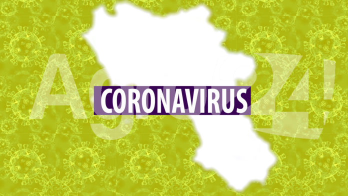 Campania coronavirus zona gialla