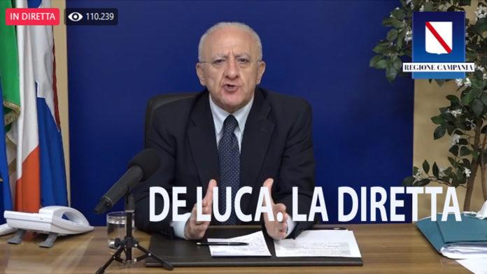 Vincenzo De Luca diretta
